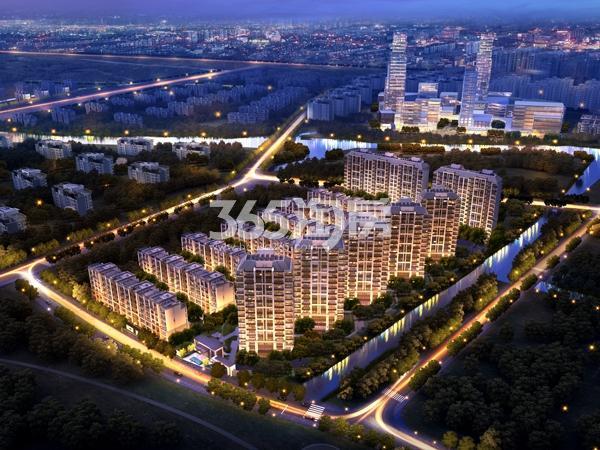 华发公园首府鸟瞰图