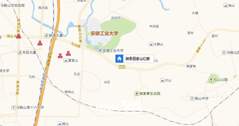 御景园·香山美墅交通图