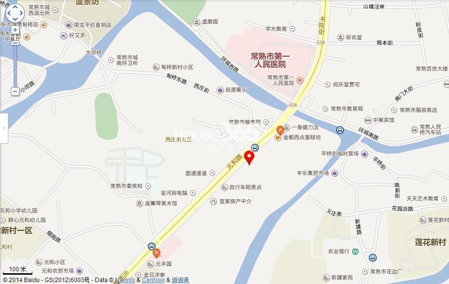 弘阳上园交通图