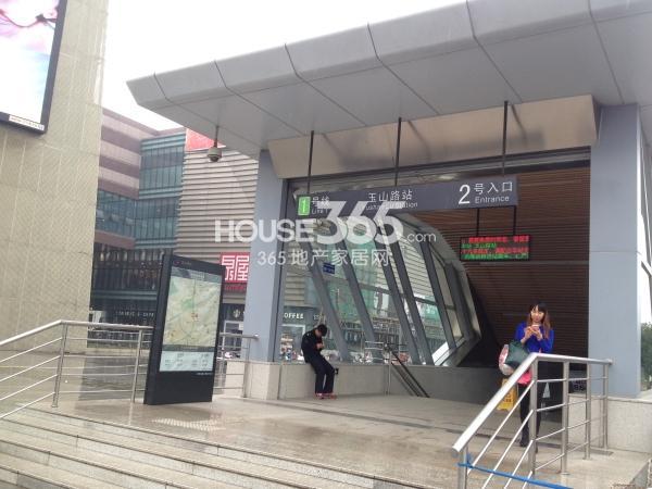 佳兆业广场附近800米配套轨交1号线玉山路站