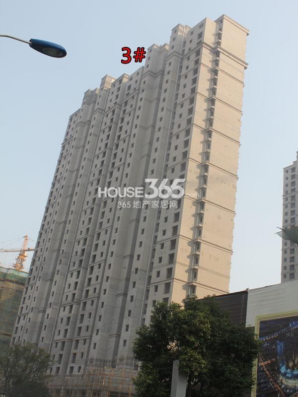 弘阳广场工程进度(2014.10)
