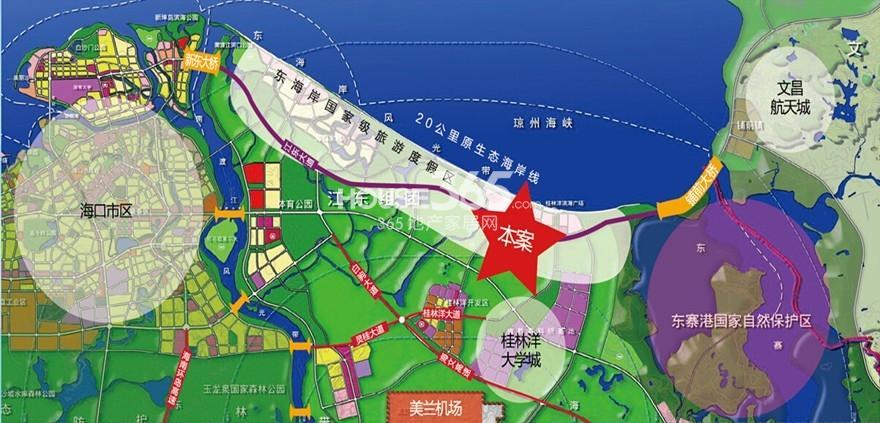 新海岸1号交通图