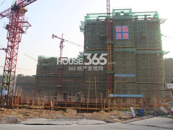 龙湖龙誉城二期项目工程进度(2014.11)