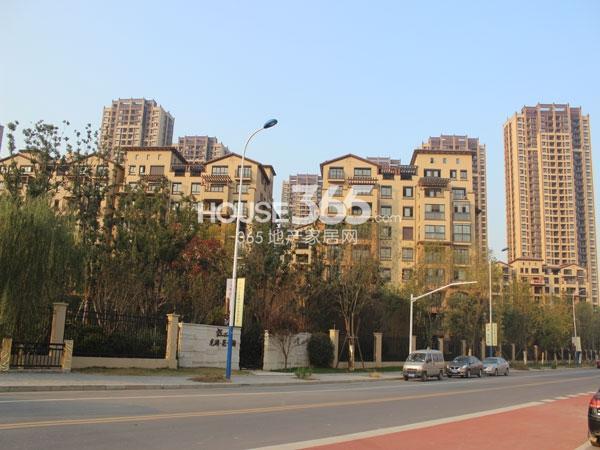 龙湖龙誉城一期实景图(2014.11)