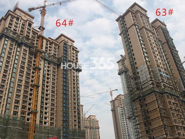 大名城63、64#工程进度(2014.11)