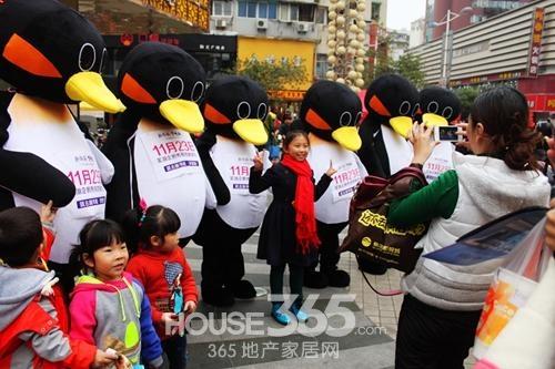 11月15日新华联企鹅主题快闪活动