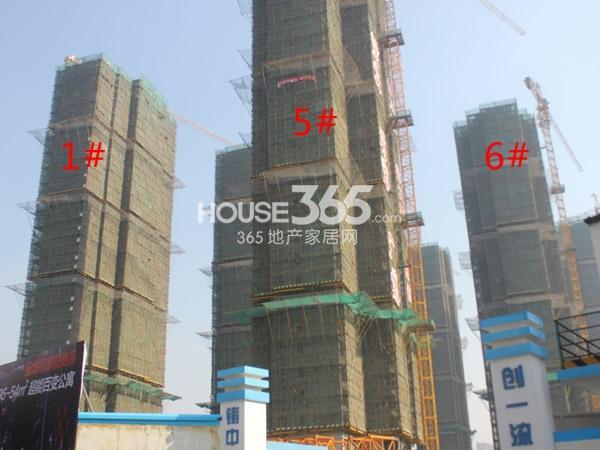 常州宝龙城市广场1#、5#、6#楼工程进度(2014.12)