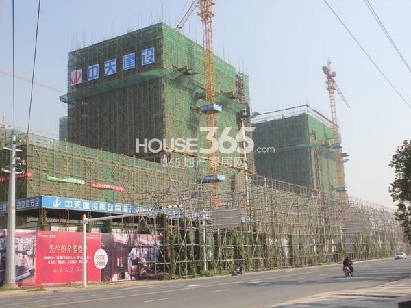 常州宝龙城市广场商业工程进度(2014.12)