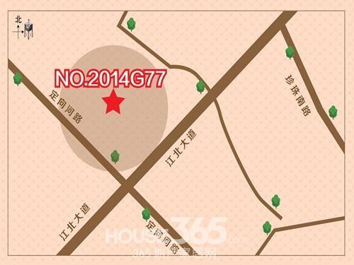 明发G77地块区位图