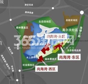 恒盛尚海湾滨海交通图
