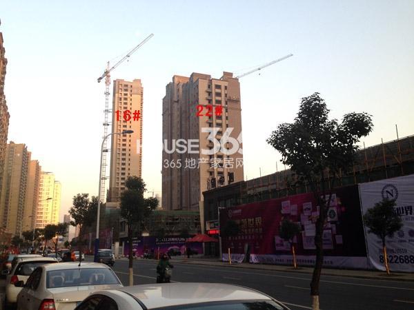 九洲新世界16#、22#楼工程进度图(2014.12)