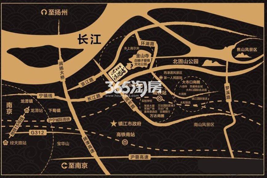 碧桂园滨湖湾交通图