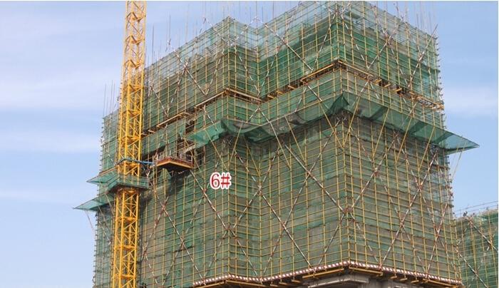 新华联梦想城12月工程进度