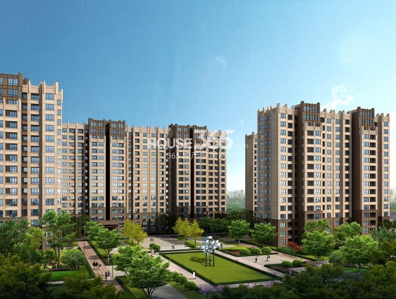城市之光D2地块高层住宅效果图