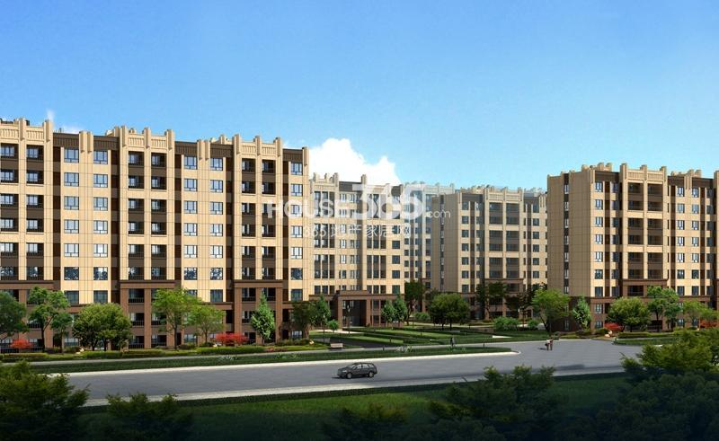 城市之光D2地块多层住宅效果图