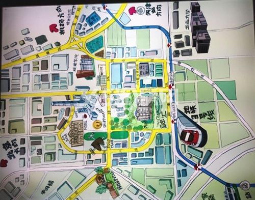 金融街融汇交通图