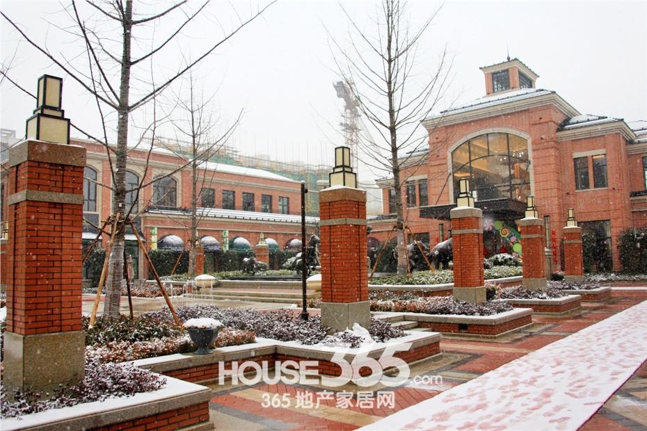 万科海上传奇售楼中心实景(2015年1月摄)