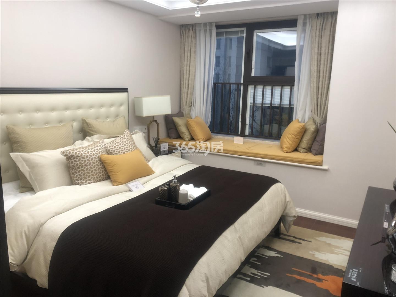 中国铁建青秀城A户型88㎡样板间卧室