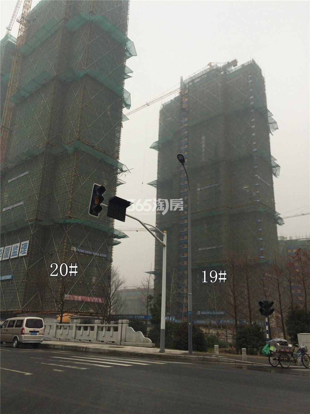 佳兆业城市广场19、20#实景图(1.19)