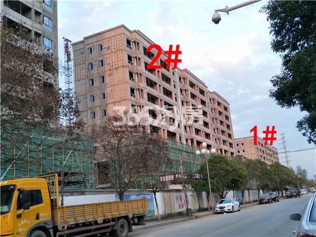 万科新都会1、2#楼施工实景图(9.27)