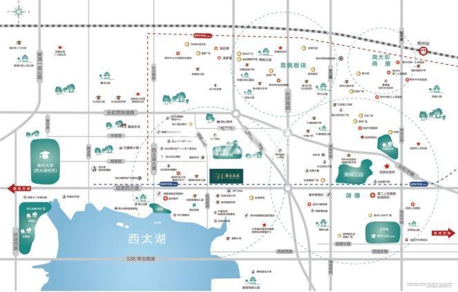 碧桂园·都市森林交通图