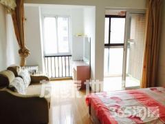 长江湾1号+精装单身公寓+中间楼层+采光好+拎包入住+设施齐全