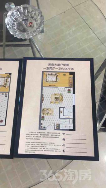苏商大厦52平米毛坯可注册2017年建