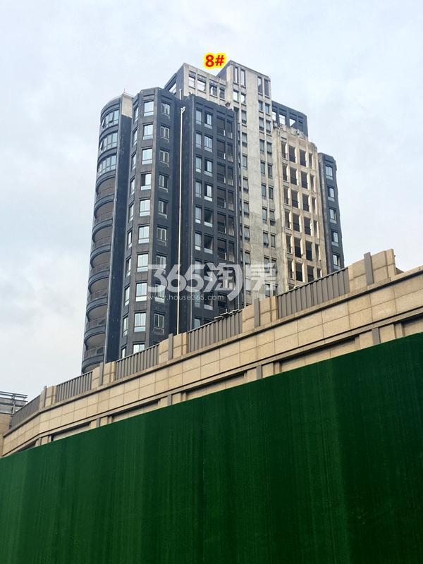 绿地·观澜湾8#楼小高层工程进度实景(2018.3摄)