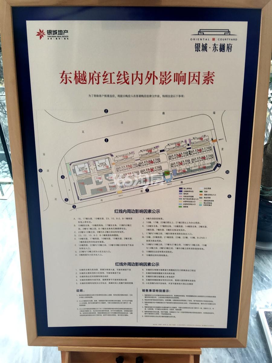 银城东樾府红线内外影响因素
