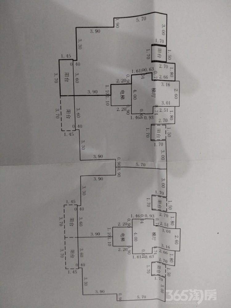 和顺荷塘月色2室1厅1卫84平米2015年产权房毛坯