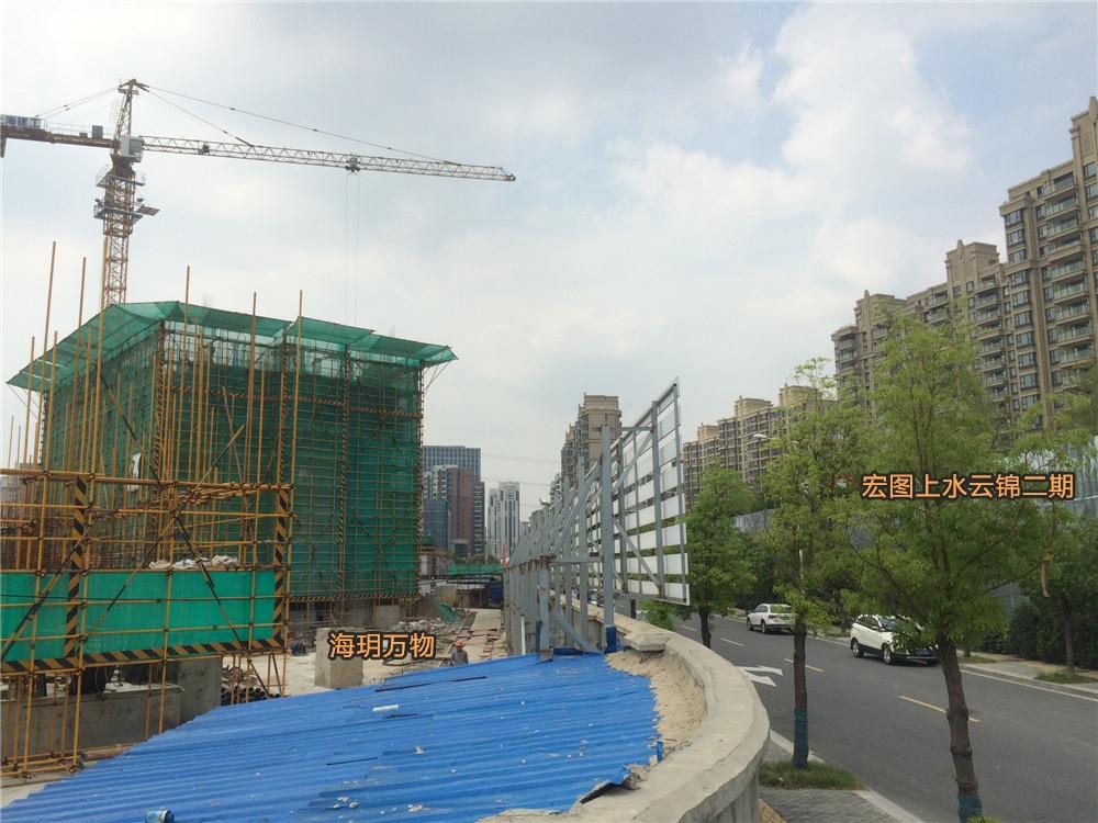 宏图上水云锦二期实景图(9.28)