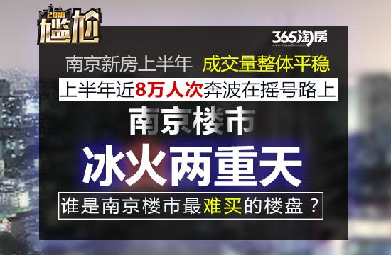 上半年南京新房已成交超2.9万套!哪些楼盘卖得火?