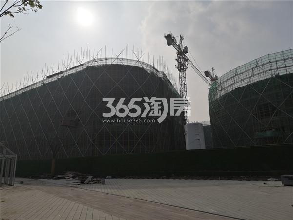 东方万汇城在建综合体进展实景图(11.23)