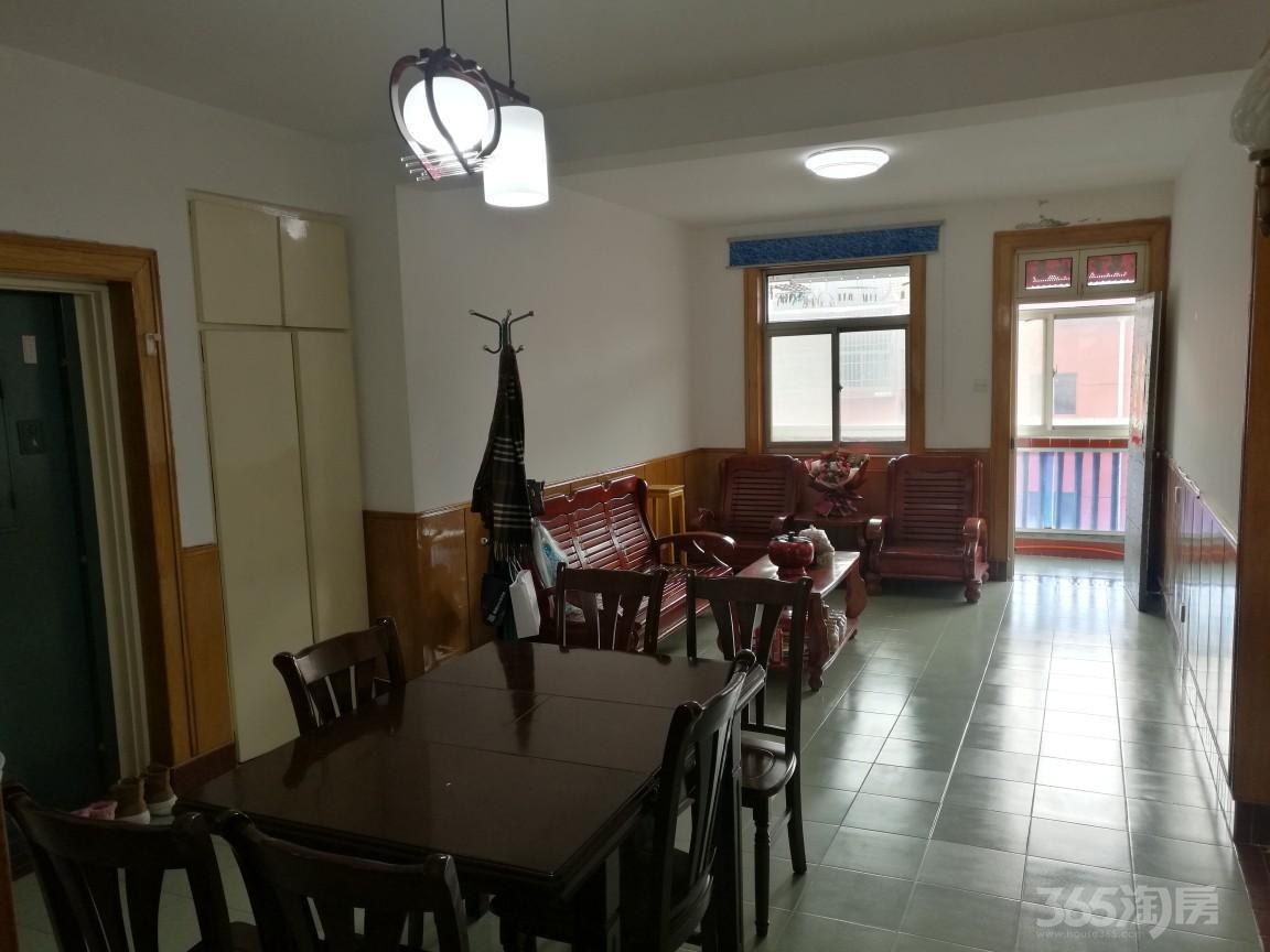 汶河路教育局宿舍区2室2厅1卫90平米1995年产权房精装