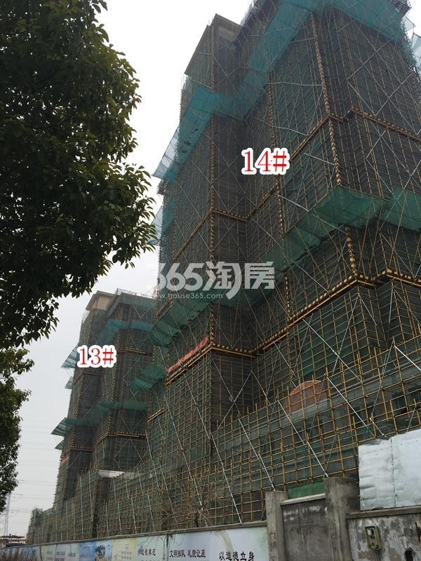 长泰国际社区B地块高层14#楼实景图(2018.1 摄)