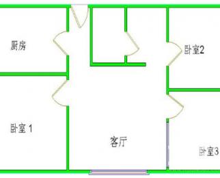 地铁一号线紫庐站,师范附小,48中旁,南北通透三室两厅两卫