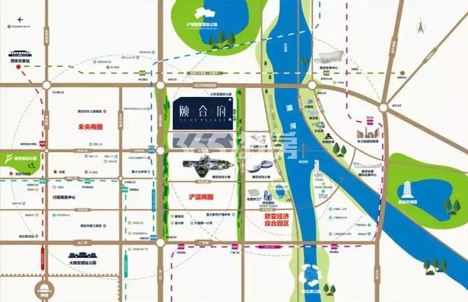 颐合府交通图