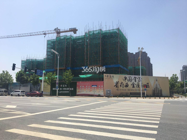 滨湖金茂悦工程外部环境实景图(2018.6.19)