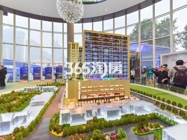 KingMall未来中心售楼部沙盘(2017.9.29)