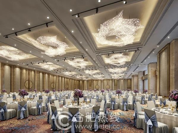 在大宴会厅或欧式户外花园举办婚礼仪式,享用由唐阁名厨及其团队倾力