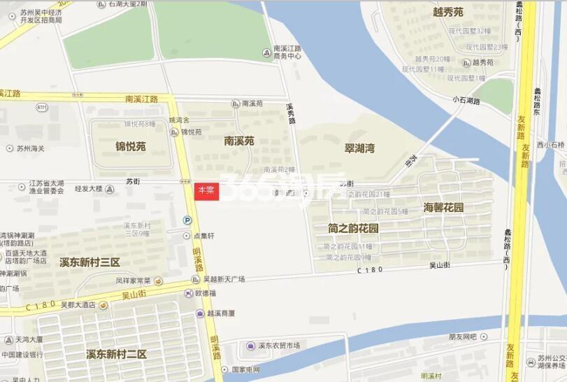和昌熙溪里交通图