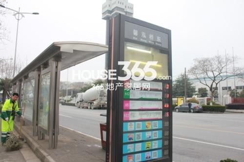 姑苏金茂府周边公交站台馨泓桥东