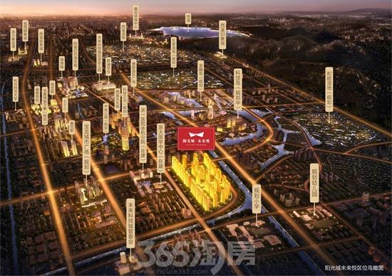 阳光城未来悦区位图