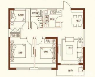 奥南<font color=red>五矿崇文金城</font>整租地暖中央空调拎包入住看房提前联系