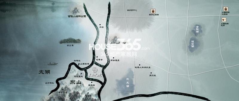 东山天境家和院交通图