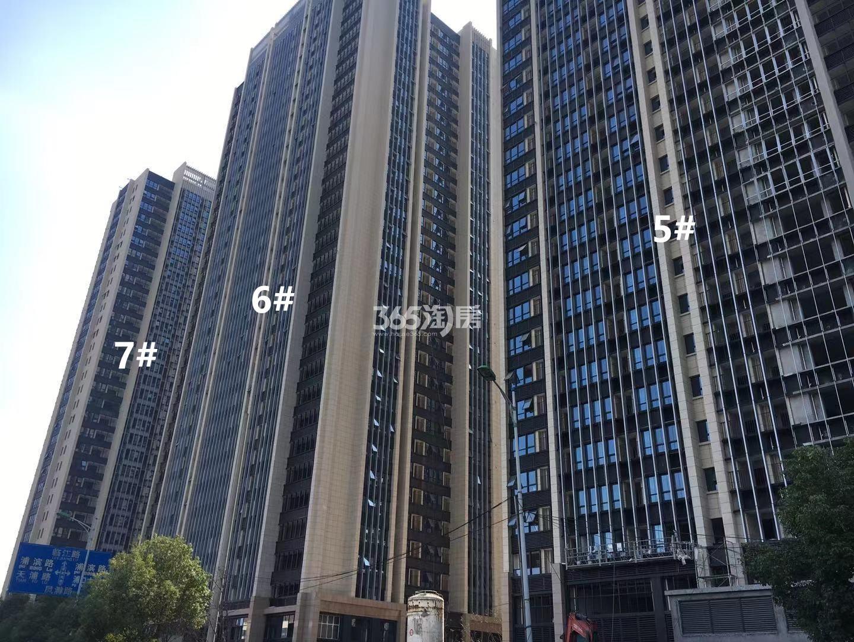 明发财富中心5、6、7号楼实景图(11.25)