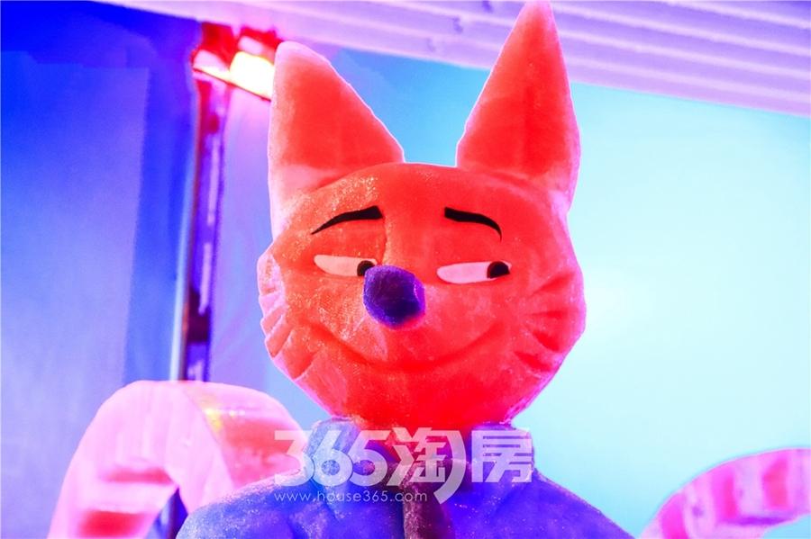 昌建融创枫丹壹号极地冰雪世界(2018.8摄)