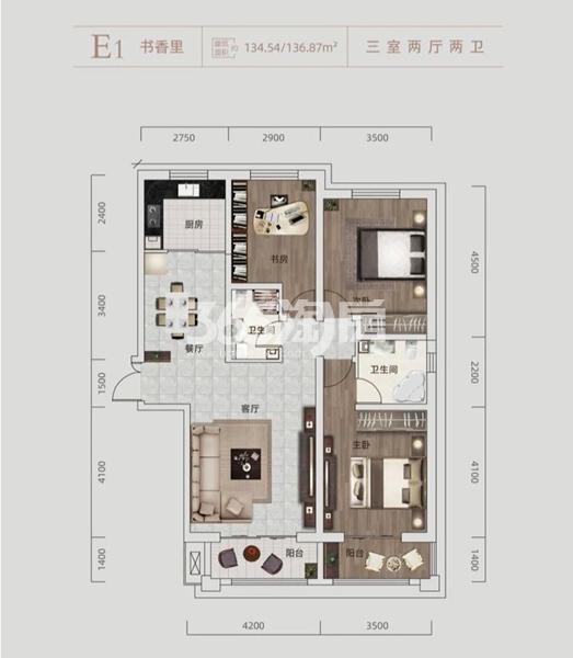 盛世·和平居户型图