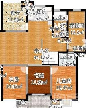 铁一中初中旁《御城龙脉南区》3室1厅