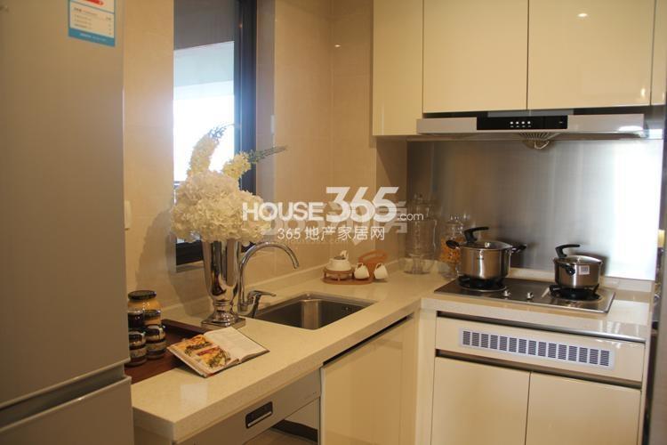 雅居乐国际花园D3户型59方样板房——厨房